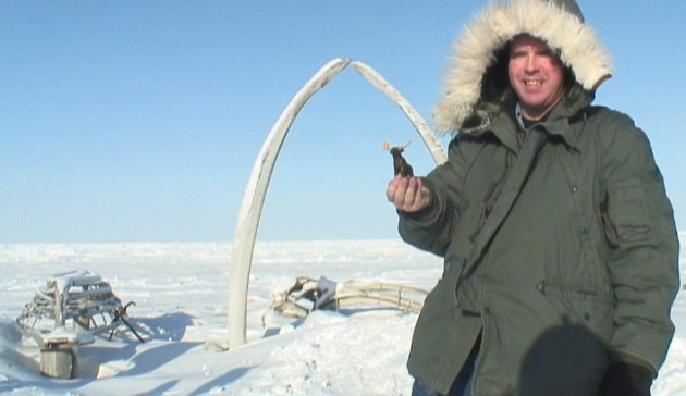 Brian got to fly to Barrow with Dennis Zaki of The Alaska Report to check out the whale bone arch.  MOAR BONEZ!