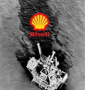 The worst spill in UK waters in a decade at a Shell Platform in the North Sea, 2011.