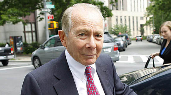 Creepy old man wants to touch your money in unwelcome ways: AIG's Greenberg