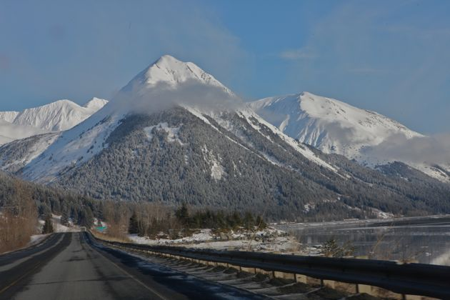 """There's a reason that the Seward Highway has been designated an official """"Scenic Byway."""""""