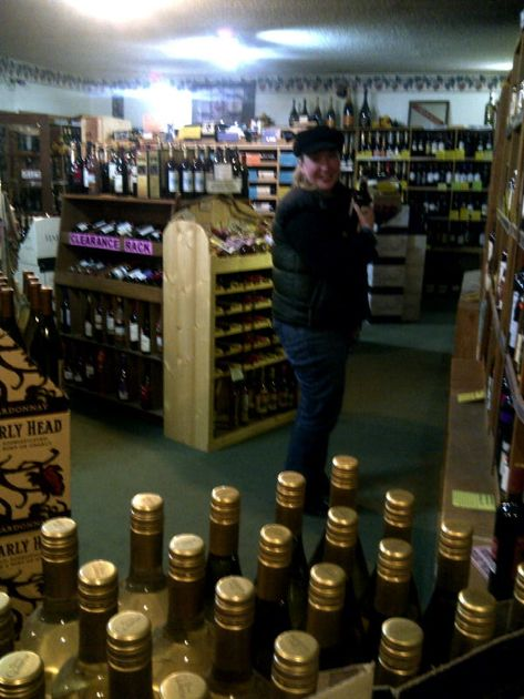 What would a trip to Homer be without a visit to the Grog Shop, and its fancy temperature controlled wine room? Over 1200 wines!