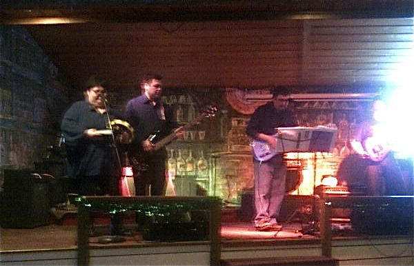 The English Bay Band from Nanwalek rocked the house!