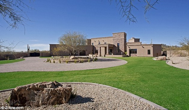 The new $1.6 million Palin abode in North Scottsdale, Arizona.