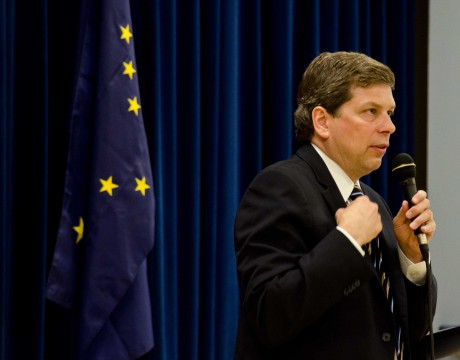 Begich-TownHallTalk5-1-13
