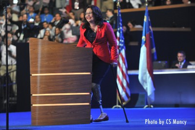 Tammy Duckworth at the 2012 Democratic National Convention - Photo by CS Muncy