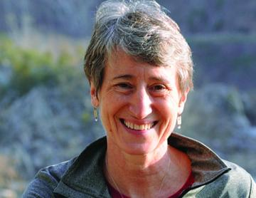 Secretary of the Interior, Sally Jewell.