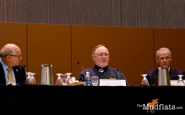 Congressman Don Young (R-AK) at a recent Federal Overreach Summit in Anchorage.