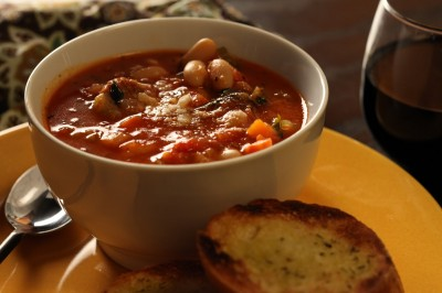 Italian Sausage and White Bean Soup www.bos-bowl.com