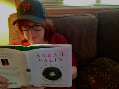San Francisco logo is to Palin book, as garlic necklace is to vampire. It can't hurt to hope.
