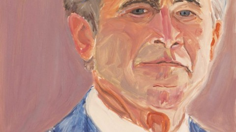 Self portrait by George W. Bush