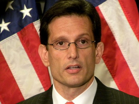 Soon to be ex-House Majority Leader, Eric Cantor (photo Geoff Holzman)