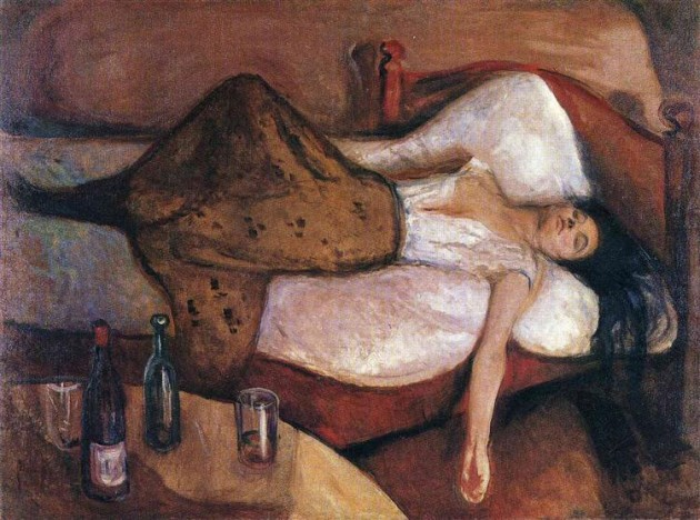 The Day After by Edvard Munch, 1895
