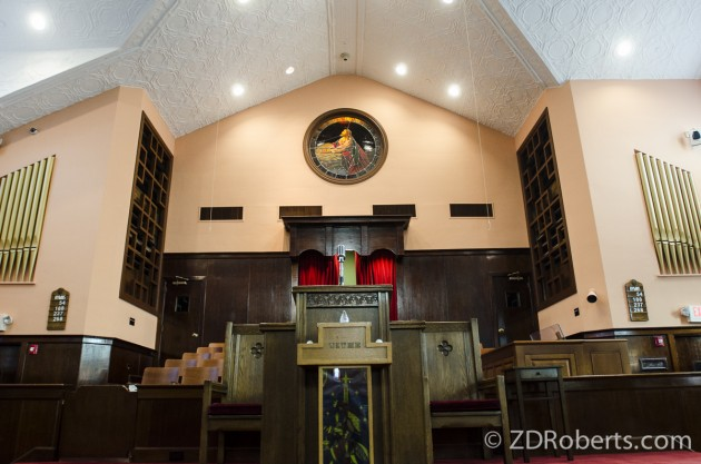 Where Martin Luther King Jr. preached.