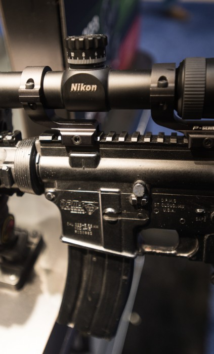 Nikon: It's not just for cameras. (photo ZD Roberts)