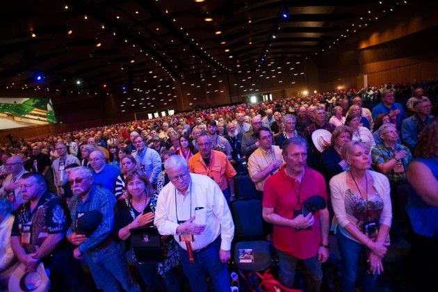 The audience of the NRA Leadership forum in Nashville. (photo: ZD Roberts)