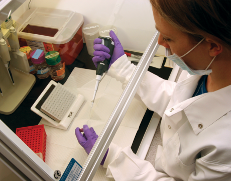 Photo by Department of Public Safety - Crime Lab DNA sampling